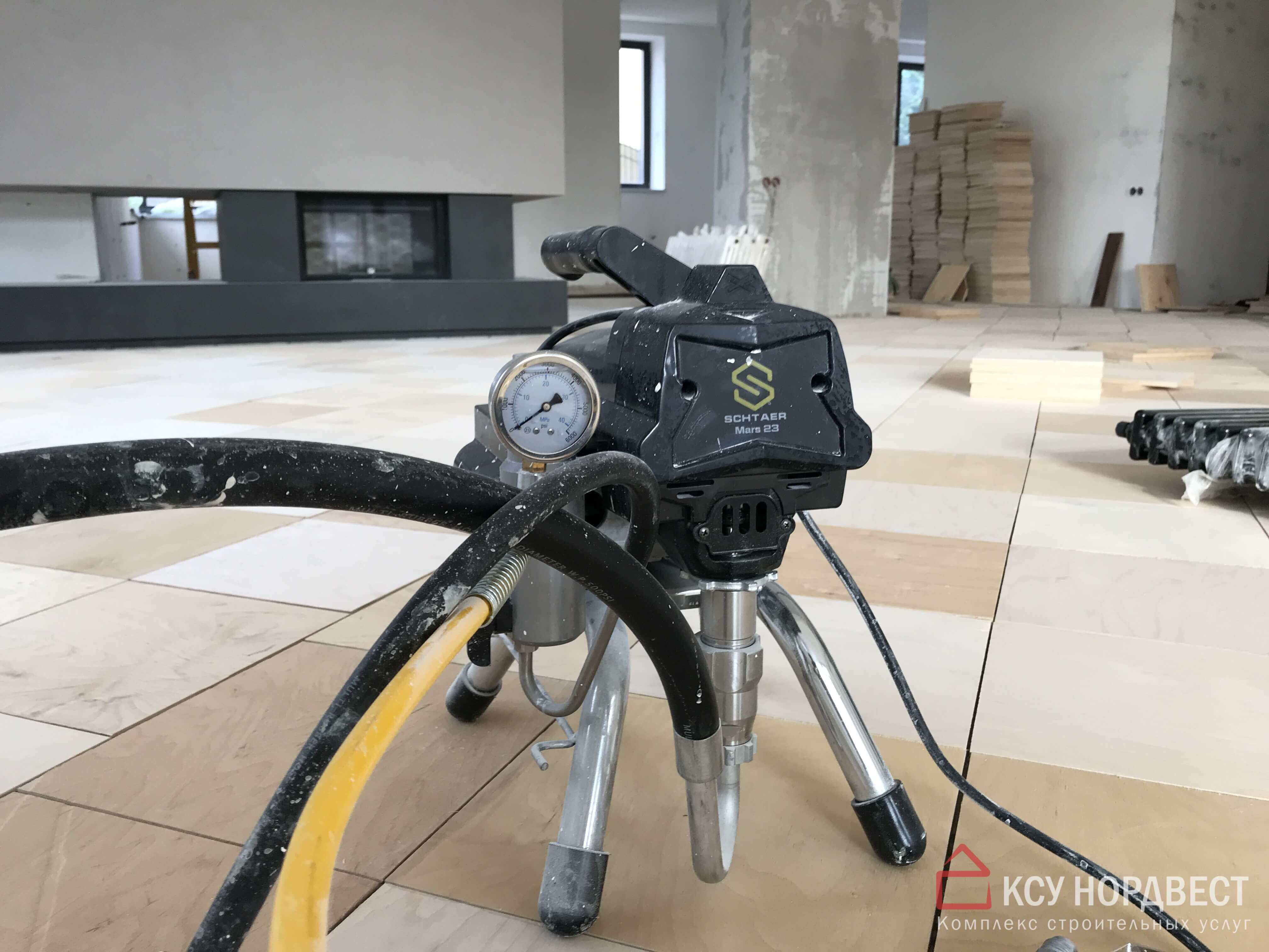 пневматический аппарат безвоздушного распыления краски