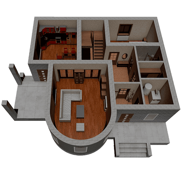 дом из газобетона цена