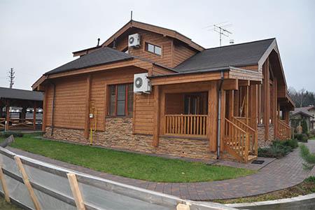 Фото построенных деревянных домов