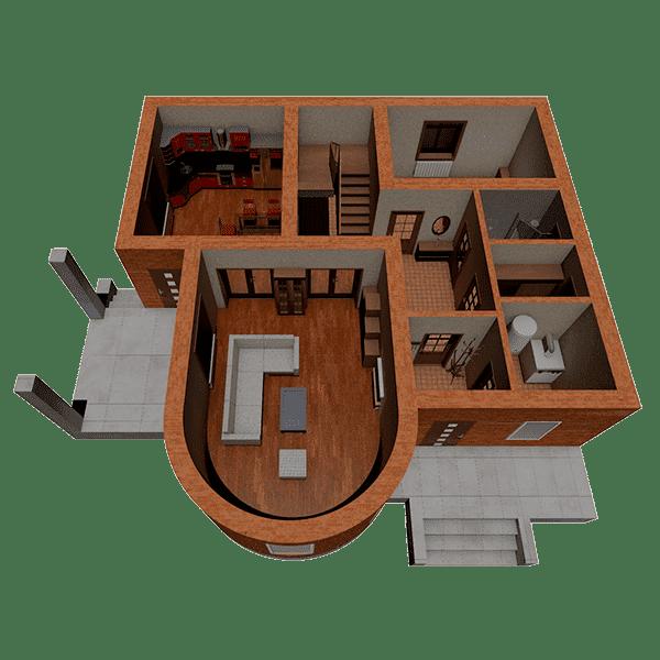 построить дом из кирпича калькулятор