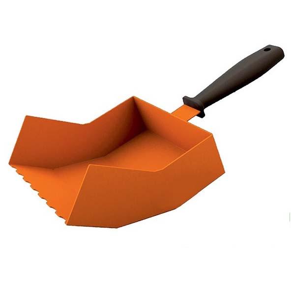 шпатель для кладки блока