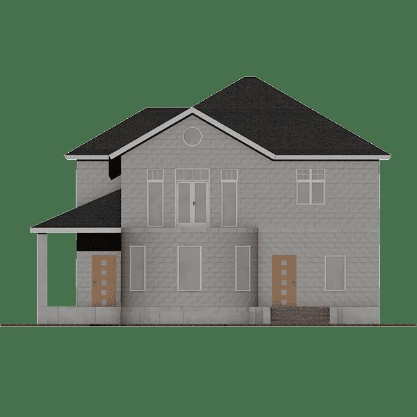 построить дом из газобетона цена
