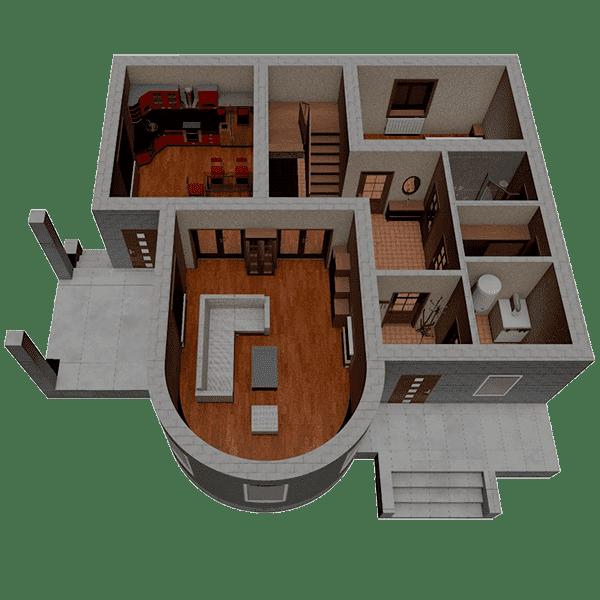 дом из пеноблока цена